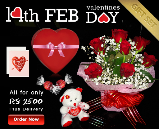Valentine's Day Gift Set 14 February 2018