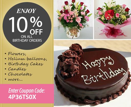 Enjoy 10 Off All Birthday Orders