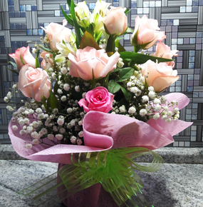 Pink Roses mix
