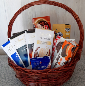 Chocolate Hamper Basket